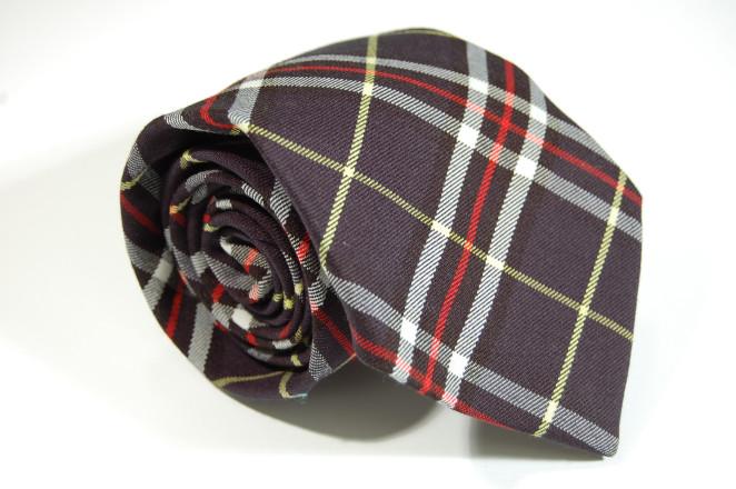fatto rifatto udine_cravatta scozzese blu