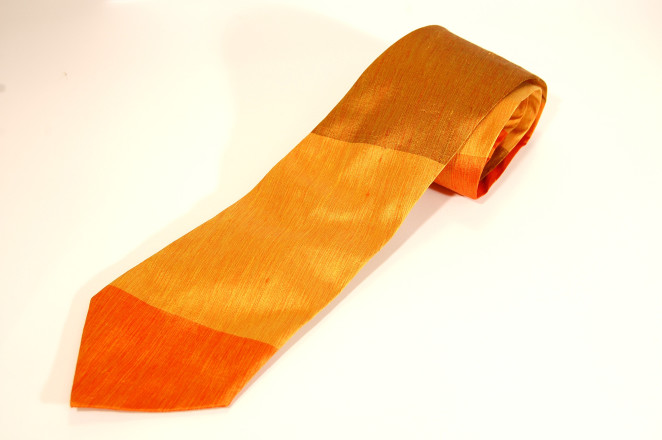 seta arancio_cravatta